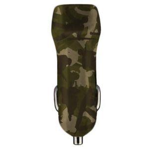 BENJAMINS - Car Charger 2xUSB (camouflage)