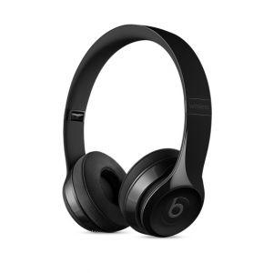 APPLE - Beats Solo3 Wireless On-Ear Headphones - Gloss Black