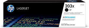 HP - 203X High Yield Black Original LaserJet Toner Cartridge