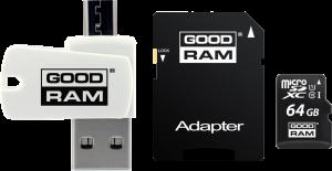GOODRAM - microSDHC de 64GB OTG: UHS-I / Classe 10