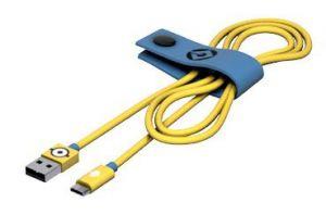 TRIBE - CABO MINIONS USB-MICROUSB (CARL)