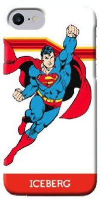ICEBERG - SOFT CASE SUPERMAN IPHONE 7 (FLYING)