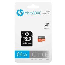 HP - CARTÃO DE MEMÓRIA MICROSDXC 64GB UHS-I U3
