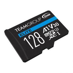 TEAMGROUP - Micro SD Elite 128GB class10 UHS-I U3 V30 A1 SDHC/SDXC (90MB/s-45MB/s)