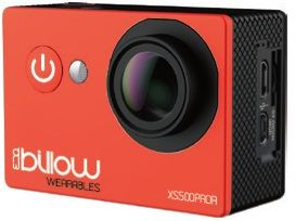BILLOW - ACTION CAM REAL 4K WIFI 170º C/ ACESSÓRIOS RED - XS600PROR