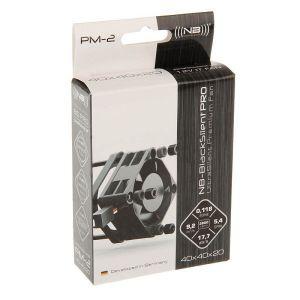 Noiseblocker - Ventoinha PretoSilent Pro PM2 40mm