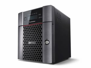 BUFFALO - TS 5410 HDD 12TB 4x3TB 2x1GbE 1x10GbE