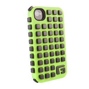 G-FORM - iPhone Square - Green Shell / Black RPT - CP2IP4007E