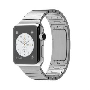 APPLE - Watch 38mm Stainless Steel Case with Link Bracelet