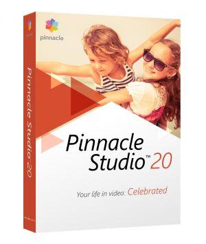 COREL - Pinnacle Studio (versão 20 ) pacote de caixa 1 utilizador Win Multi-Lingual
