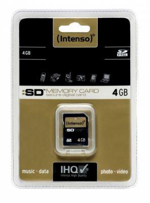 Intenso - Secure Digital SDHC Card 4 GB