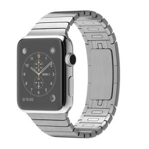 APPLE - Watch 42mm Stainless Steel Case with Link Bracelet