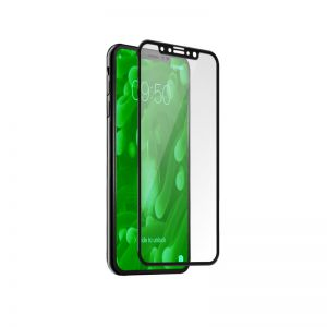 SBS - SCR PROTC FULL GLS ROUNDED EDGEACCS IPHONE X BLACK
