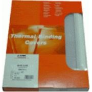 IBICO - Pasta Termica 1:5mm Pack 25un Branco / Transparente