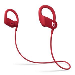 APPLE - Auriculares sem fios Powerbeats de elevado desempenho - Vermelho