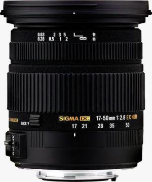 SIGMA - Objectiva 17-50mm 2.8 EX DC OS HSM NA
