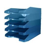 OFFICE - Tabuleiro Porta Documentos Opaco Azul (min. 10 un.)