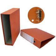 CARTONEX - Pasta Arquivo L80 310x290 c / Cx.Fixa Ref 200CC Laranja (min. 5 un.)