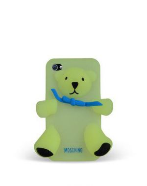 MOSCHINO - BEAR GENNARINO IPHONE 4/4S (PHOSPH. YELLOW)
