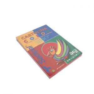 SIRIO - Cartolina 180gr 100 Folhas A4 Sirio Vermelho