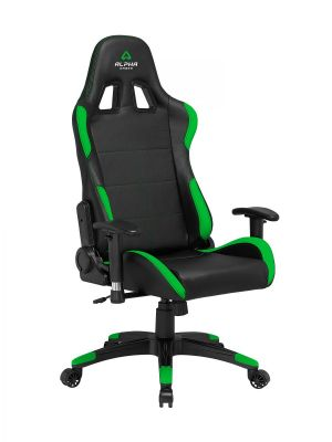 ALPHA GAMER - Cadeira Gaming Vega Black / Green