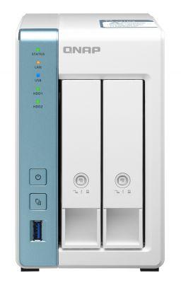 QNAP - NAS TS-231P3-2G 0/2HDD Tower Branco