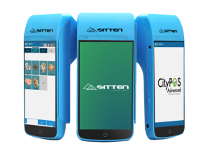 SITTEN - M2 Mobile + CityPOS - Android 6.0, DDR3 1GB, ROM 8GB, Monitor Touch 5,5P Impressora Térmica 58mm, Wireless, 4G.