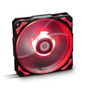 NOX - Hummer H-Fan 120 LED Red