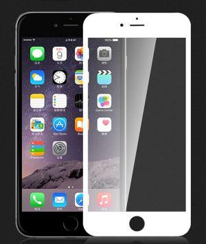 DEVIA - Proteção de Vidro Temperado Curvo para iPhone 6 Plus/6s Plus com Frente Branca
