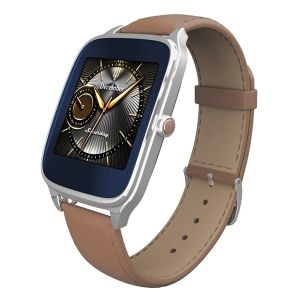 ASUS - ZenWatch 2 Silver/Camel  (1,63P (320x320)/Snapdragon 400/512Mb/4Gb/AndWear)