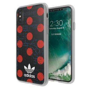 ADIDAS - SEETHROUGH IPHONE X OSAKA (RED DOTS)