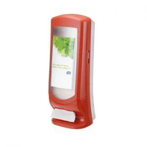 TORK - Dispensador p/900 Guardanapos N4 Vermelho