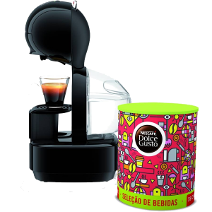 KRUPS - MAQUINA CAFE DOLCE GUSTO LUMIO PRETO PACK - KP1308P5