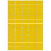DATECH - Etiquetas Douradas Laser / Copiador 38x21 20 Folhas A4 1300un