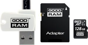 GOODRAM - microSDHC de 128GB OTG: UHS-I / Classe 10