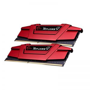 G.Skill - Kit 8GB (2 x 4GB) DDR4 2133MHz Ripjaws V Red