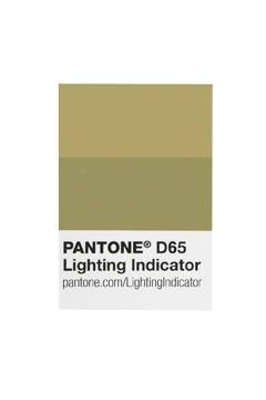 PANTONE - LIGHTING INDICATOR D65 STICKERS - 41786