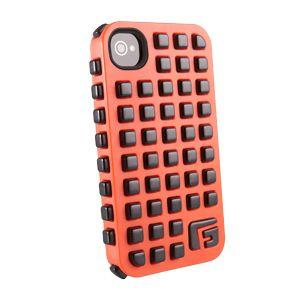G-FORM - iPhone Square - Orange Shell / Black RPT - CP2IP4010E