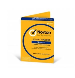 SYMANTEC - NORTON SECURITY DELUXE 3.0 PT 5USERS