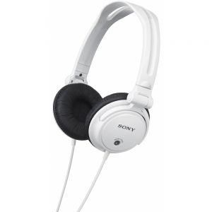 SONY - MDR-V150W - Branco - Auscultadores reversíveis tipo fechado: dinâmico