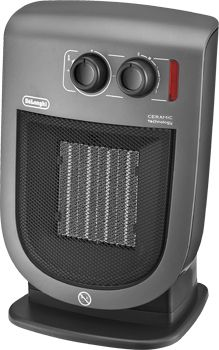 DeLonghi DCH5231 2000W Cinzento Ventoinha aquecedor