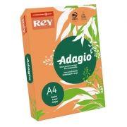 ADAGIO - Papel Fotocopia Adagio(cd21) A4 80gr (Laranja Intenso) 1x500FLS