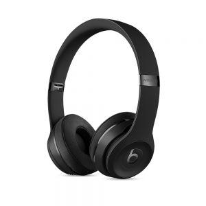 APPLE - Beats Solo3 Wireless On-Ear Headphones - Black
