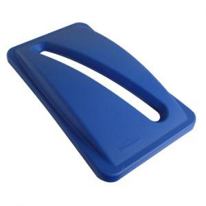 RUBBERMAID - Tampa p/Contentor Lixo Rubbermaid SlimJim Azul