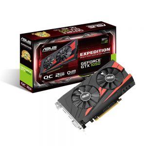 ASUS - GTX 1050 2GB DDR5 1XDVI/1XHDMI/1XDP - EX-GTX1050-O2G