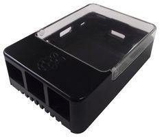 RASPBERRYPI - Dev Board Enclosure, Pi Hat, Black / Transp