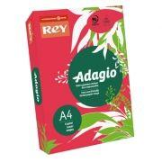 ADAGIO - Papel Fotocopia Adagio(cd22) A4 80gr (Vermelho Intenso) 1x500FLS