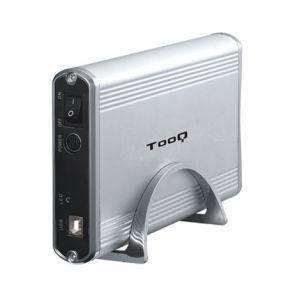 TOOQ - Caixa EXTERNA TQE-3518S 35P IDE-SATA USB 2.0 CINZA