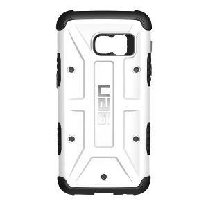 UAG - Samsung Galaxy S7 Composite Case-White/Black - GLXS7-WHT