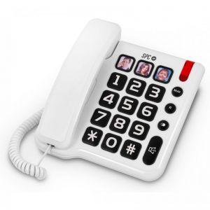 SPC - 3294B Telefone COMFORT NUMBERS Teclas Grandes